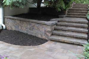 TechoBloc Eva Steps and Walkway