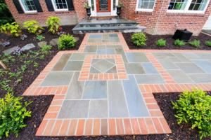 Complete Front Walkway, Driveway, and Garden Remodel