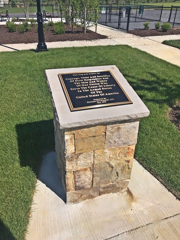 commercial memorial pillar