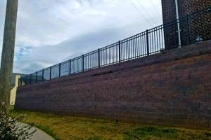 Engineered Commercial Retaining Wall