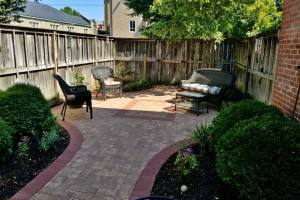 Small Downtown Patio Remodel