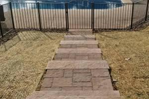 Walkway Steps to Pool