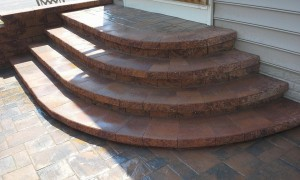 Patio Stairs in Frederick Maryland