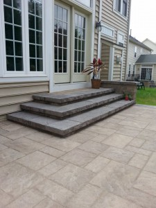 Interlocking Paver Installed Patio Frederick Maryland