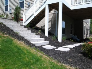 Custom Outdoor Stairway Frederick MD