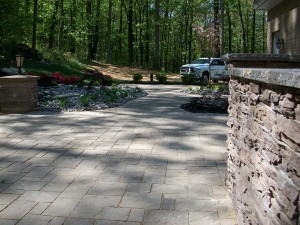 Interlocking Paver Installation in Maryland