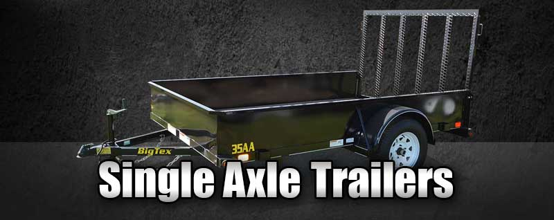 Single Axle Trailers | Frederick Maryland