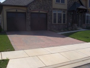 Retaining Walls and Driveways built by Barrick & Sons