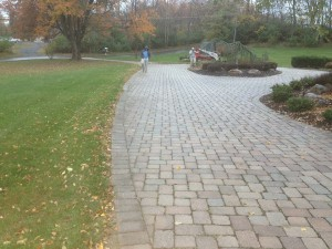 Driveways built by Barrick & Sons LLC