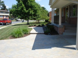 Custom Driveways Built by Barrick and Sons