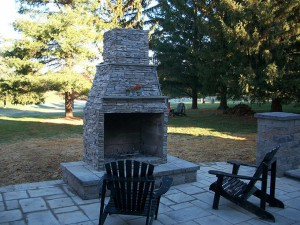 Outdoor Fireplaces in Frederick County Maryland