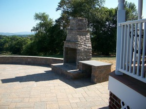 Patios and Outdoor Fireplaces in Maryland
