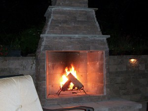 Outdoor Fireplaces and Paver Patios in Frederick Maryland