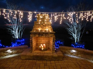 Outdoor Lighting and Firepits in Frederick County Maryland