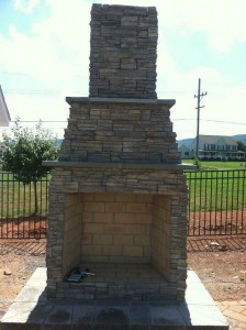Outdoor Fireplaces in Frederick Maryland