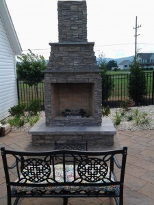 Outdoor Fireplaces and Firepits in Frederick Maryland