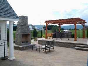 Outdoor Fireplace and Firepits in Montgomery County Maryland