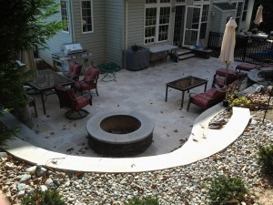 Firepits and Patios in Frederick County Maryland