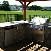 Outdoor Kitchen Design in Frederick Maryland