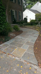Interlocking Paver Installation in Montgomery County Maryland