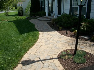 Paver Walkway in Montgomery County Maryland