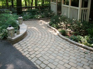 Patio Walkway in Frederick County Maryland
