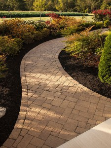 Interlocking Paver Pathways by Barrick & Sons