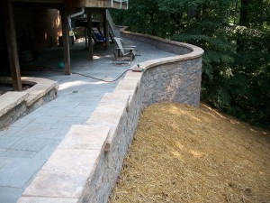 Patio Wall Montgomery County Maryland