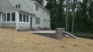 Patio Walls in Montgomery County Maryland