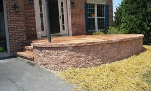 Custom Retaining Wall Frederick MD