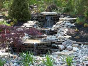 Water Features and Waterfalls in Montgomery County Maryland