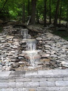 Waterfalls & Water Features in Frederick County Maryland