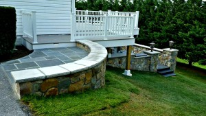 Custom Retaining Wall & Patio Pavers | Frederick Maryland