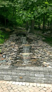 Water Falls & Other Features in Frederick Maryland