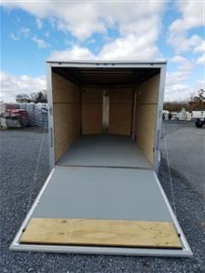 2017 Integrity Enclosed Trailer 7x14 Ramp Gate Heavy Equipment Frederick MD