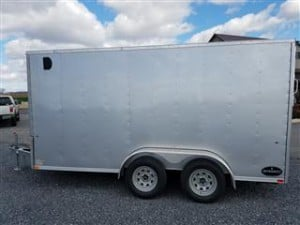 2017 Integrity Enclosed Trailer 7x14 Side- Heavy Equipment Frederick MD