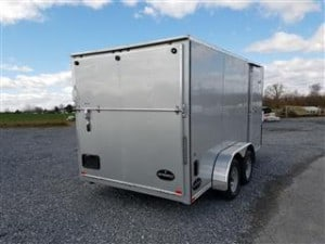 2017 Integrity Enclosed Trailer 7x14 rear angle Heavy Equipment Frederick MD