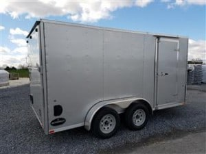 2017 Integrity Enclosed Trailer 7x14 side angle Heavy Equipment Frederick MD
