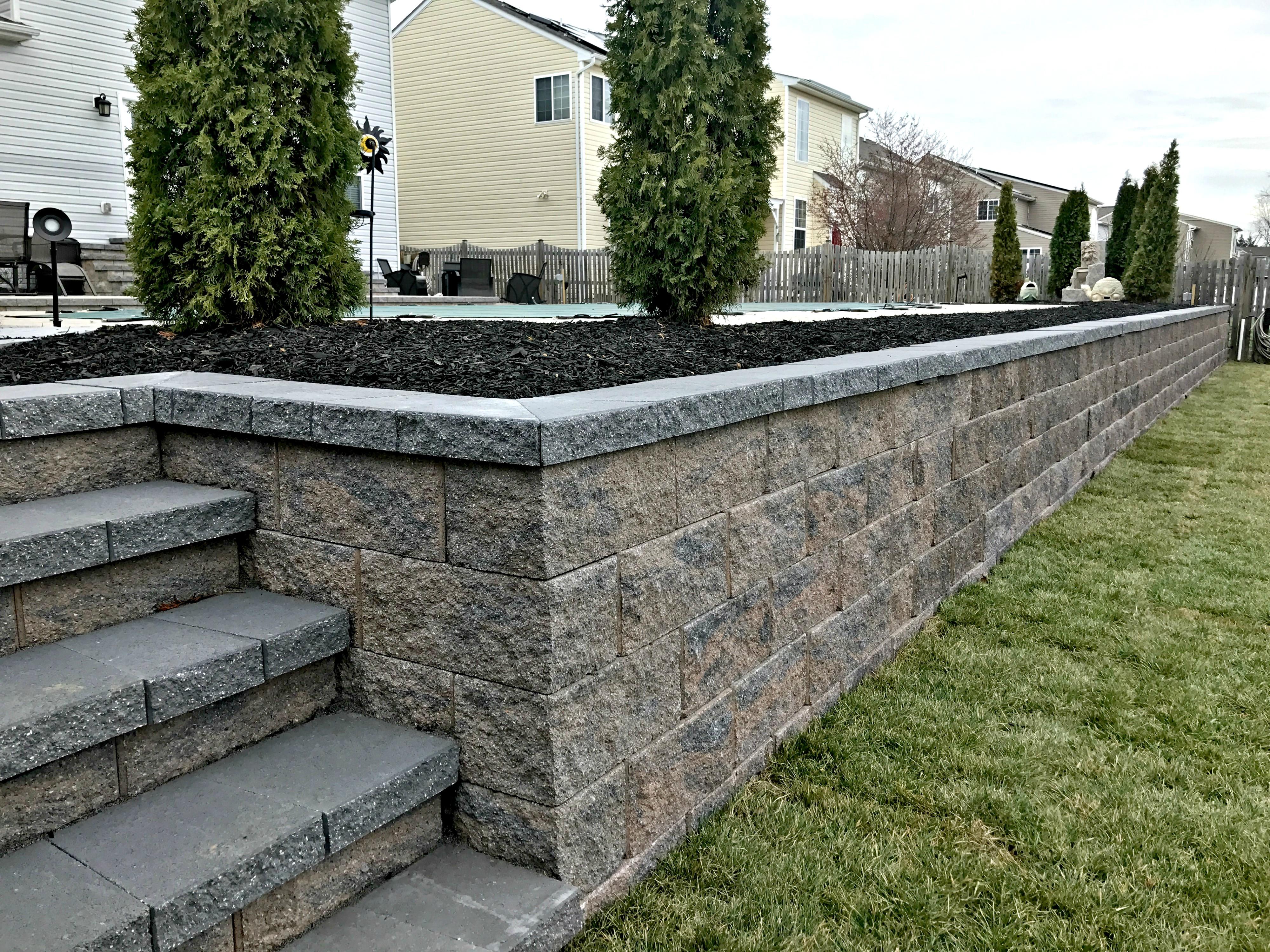 Landscape Retaining Walls Frederick County Md Barrick Garden Center