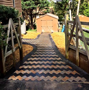 Intricate Custom Pathways in Maryland